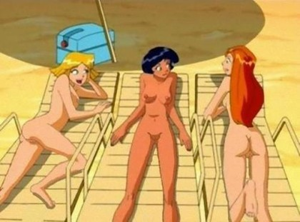 Totally Spies Hantai