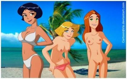 Totally Spies Porn Comic