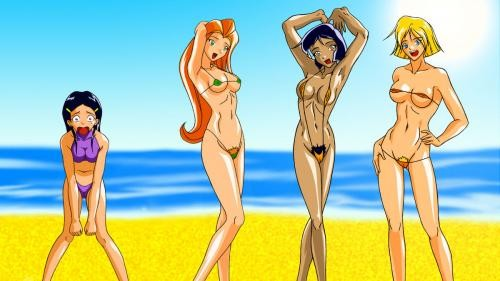 Totally Spies Hentia