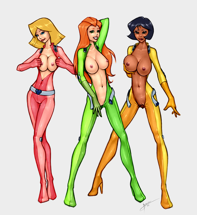 Free Cartoon Porn Totally Spies